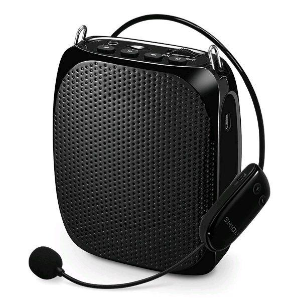 Усилитель голоса с беспроводным UHF микрофоном GID-615