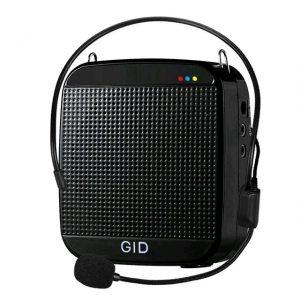 Усилитель голоса поясной GID-512 с плеером и AUX
