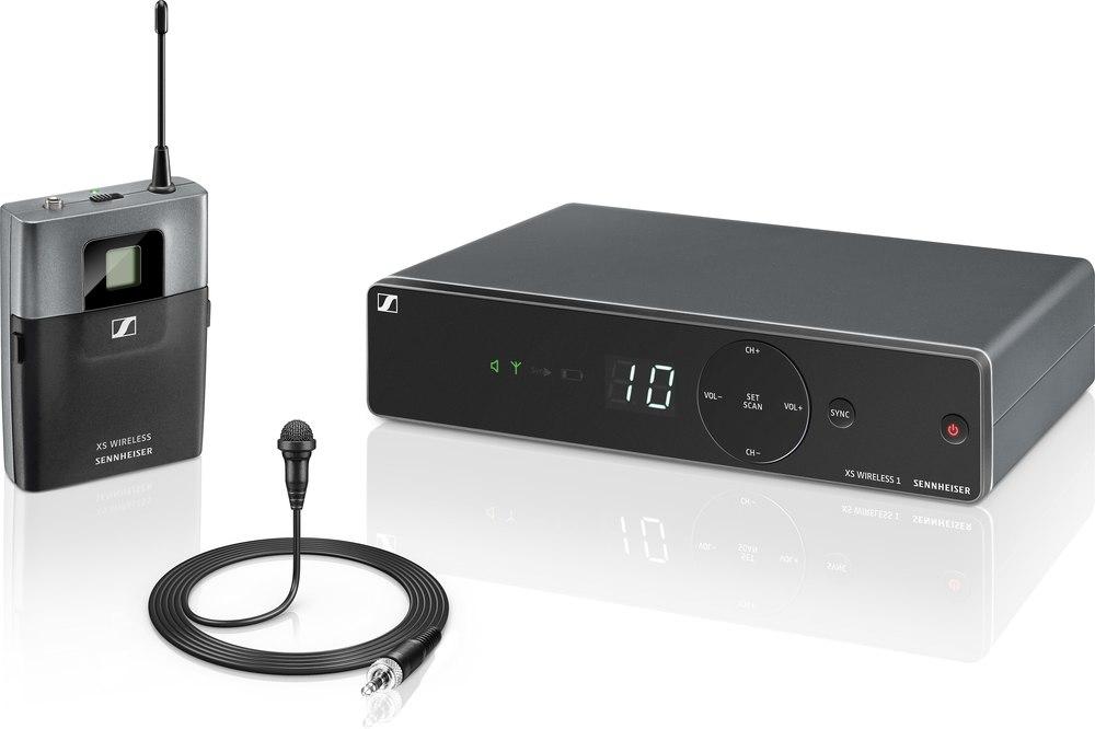 Радиомикрофон-петличка беспроводной
